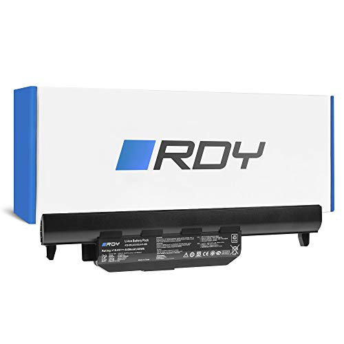 RDY Batería A32-K55 para ASUS A55 F55 F55A F55C F75 F75A F75V F75VB F75VC F75VD K55 K55A K55DR K55V K55VD K55VJ K55VM K75 K75V K75VJ R704 R704A R704V R704VB R704VC R704VD X55 X55A X55U