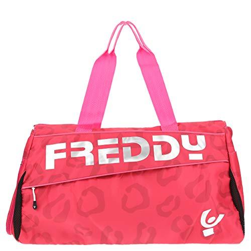 Freddy sporttas met maxi-druk, ton-sur-ton en logo