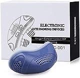 MYYYYI Dispositivos Anti-Ronquidos Dispositivos Eléctricos USB De Silicona Anti-Ronquidos, Dispositivo Anti-Ronquidos, Dispositivo para Dejar De Roncar, Hecho para Promover La Respiración,Azul