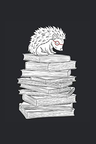 Bücherigel: Igel Notizbuch Mit 120 Linierten Seiten (Linien) Inkl. Seitenangabe. Als Geschenk Eine Tolle Idee Für Naturfreunde, Igelliebhaber  Und Tierliebhaber