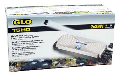 Glo Aquariophilie Système d'Éclairage T5 2x39 W