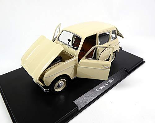 OPO 10 - Renault 4L von 1964 1/24 Collection Léo Modelle mit Hardbox und Öffnungsteilen