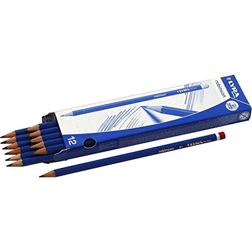 Robinson potloden, hardheid B, 12 stuks