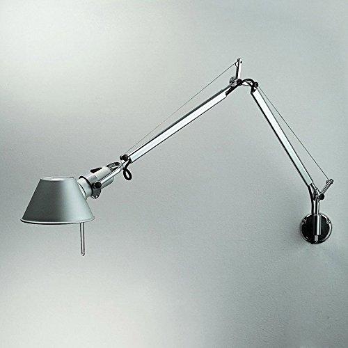 Pumpink Lampada da parete moderna a parete in alluminio orientabile a braccio moderno a braccio moderno Lampada a sospensione a parete in lamiera da parete moderna europea a muro Sconce
