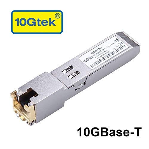 Juniper Compatible 10Gb/s SFP+ RJ45 Copper Transceiver Module, 10GBase-T, RJ45 Connector, 30m
