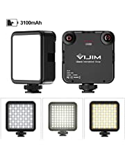 VIJIM VL81 3000mAh LED Video Light Soft Light 3200-5600K USB Charge for DJI OSMO Mobile 3 Pocket Zhiyun Smooth 4 Sony RX100 VII Canon G7X Mark III A6400 6600 Camera GoPro 8 7 6 5 Vlogging