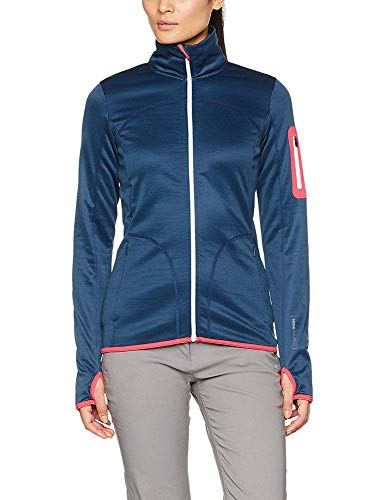 ORTOVOX Damen Fleece Jacke, Night Blue, S