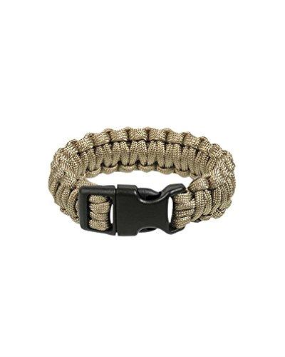 Bracelet Paracorde 2,2cm - MilTec - Coyote - XL