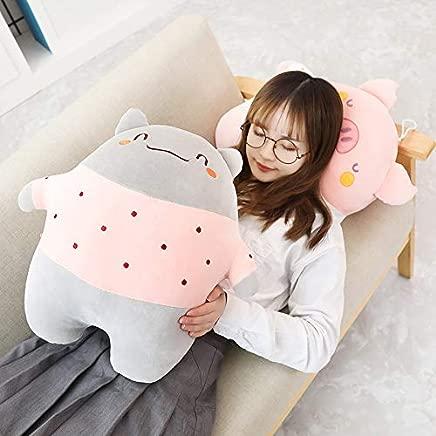 ZSFR Creative Toys Cute Meng Animal Holding Pillow Down Cotton Mollusc Doll Doll Sending Girls Gift 50Cm