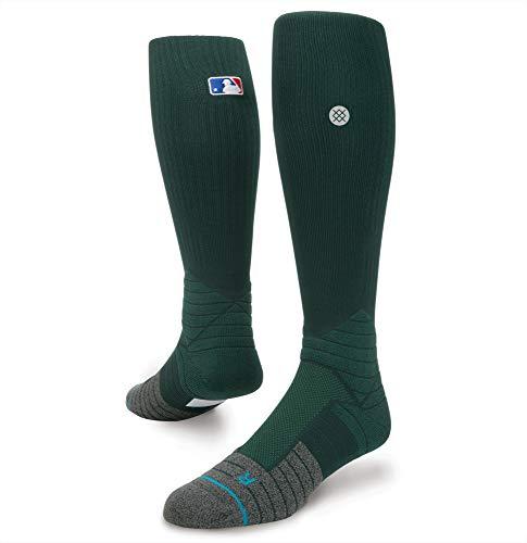 Stance Men's Diamond Pro OTC MLB on Field Calf Sock, Green - Large