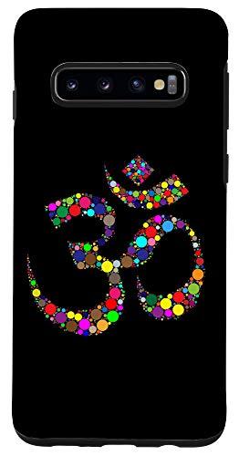 Galaxy S10 Yoga Om Sound Sacred Hindu Meditation Fitness Chant Gift Case