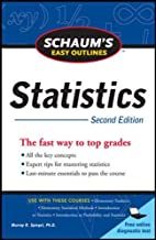 Schaum's Easy Outline of Statistics, Second Edition (Schaum's Easy Outlines)
