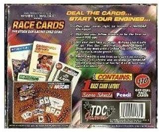 NASCAR Race Cards Stock car Racing Card Game