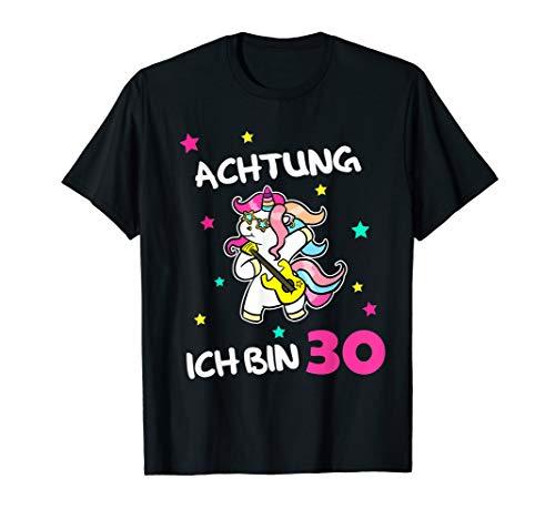 Geschenkidee Einhorn Unicorn 30 Jährige Geburtstag T-Shirt