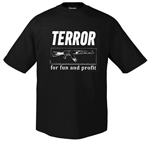 Terror Worldwide for Fun and Profit T-Shirt XL