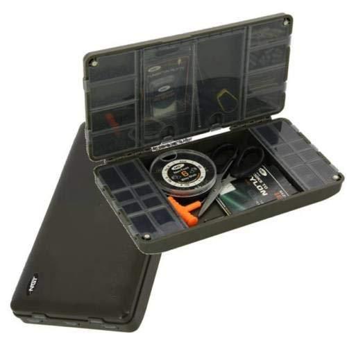 NGT Xpr Takelendstück Box - Angelzubehör Box -system für Takelendstück Karpfen Xpr Leer