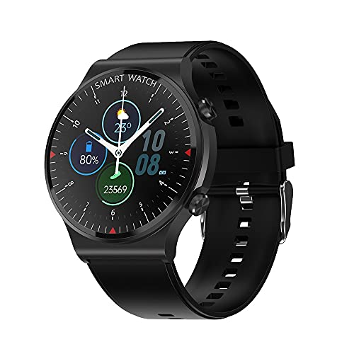 C12 Pro GT2 - Reloj inteligente 2021 con Bluetooth, para hacer tú mismo, para hombre, impermeable, para Android, iOS, Huawei Watch GT 2 (negro)