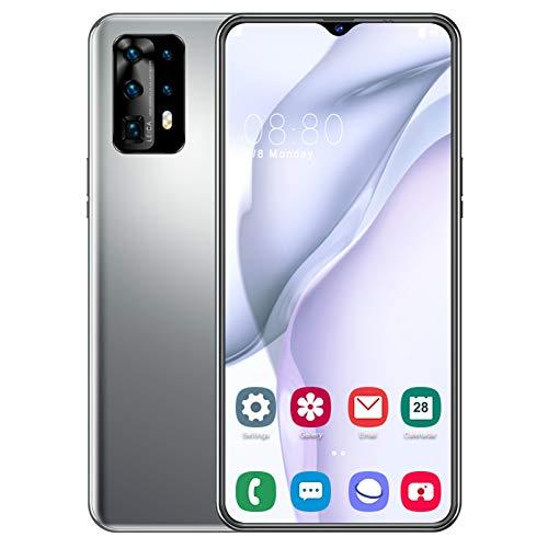 Teléfono Móvil Libre Android 9.0 4G Smartphone Libre 8GB + 256GB Octa-Core 6.7' Water-Drop Screen 13MP + 32MP Dual SIM Face ID GPS Bluetooth