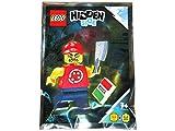 Blue Ocean LEGO Hidden Side Possessed Pizza Delivery Man Minifigure Foil Pack Set 791902 (empaquetado)