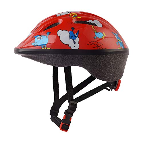 skybulls Kids Mountain Bike Helmet Girls Boys Cycling Helmets 18.9-21.3 inches CPSC Certificated (Red)