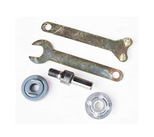 Adaptador de mandril de árbol, manguito de acoplador de eje de motor para amoladora angular, taladro convertido en accesorios de máquina de corte