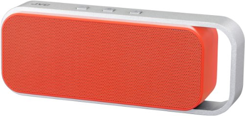 JVC SP-ABT1-D-E Bluetooth Lautsprecher (v3.0 Bluetooth, NFC, 3,5 mm Klinke, 6 Watt, micro-USB) orange