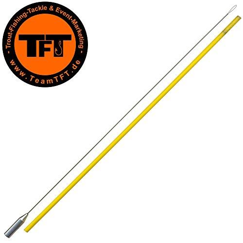 TFT Bombardeneinfädler 25cm für Bombarden & Sbirolinos, Einfädler für Bombarda & Sbirulino, Sbirolinoangeln, Forellenangeln