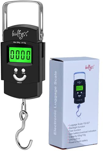 Bulfyss Electronic 50Kgs Digital Luggage Weighing Scale (1...