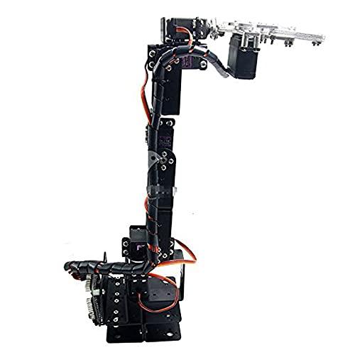 mirocle aluminio robot 6DOF brazo pinza para Kit de montaje mecánico brazo robótico para Arduino