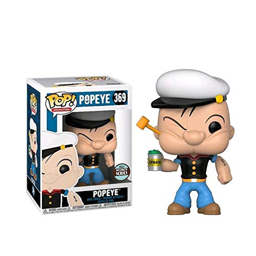 LBBD Popeye Pop Animación Figura de Dragon Ball Super Paisaje Decoración Adornos de Resina Artesanal Muñeca
