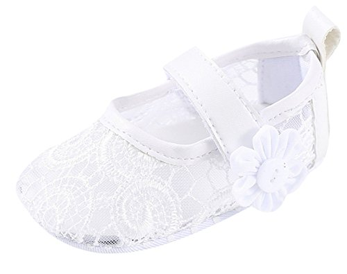 DEMU doopschoenen kruipschoenen baby meisjes prinses schoenen bruiloft party ballerina's