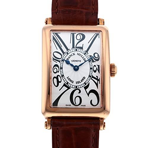 フランク・ミュラー FRANCK MULLER ロングアイランド 950QZ シルバー文字盤 中古 腕時計 レディース (W167311) [並行輸入品]