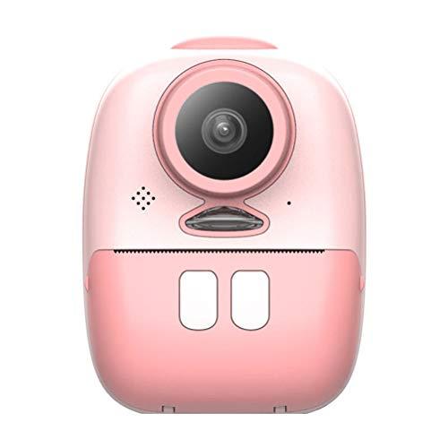 Rawisu Cámara instantánea cámara para niños cámara de Fotos Digital Mini cámara de impresión instantánea cámara autofoto de Pantalla de 2 Pulgadas para niños, con 3 Tarjetas de Memoria de Papel