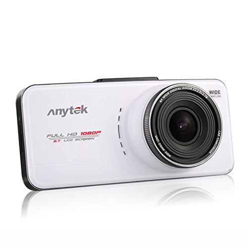 16GB TF Card+Original Anytek@ FHD 1080P 2.7 inch TFT Screen Best Dash Cams DVR Car Dashboard Camera Car Camcorder 170 Degree Wide Angle Car DVR With G-Sensor, WDR, Loop Recording.