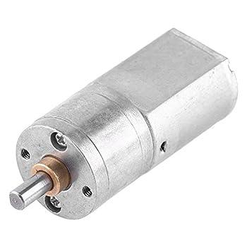 High Torque Speed Reduction Motor 12V DC 12V Electric Gear Motor for Model DIY Engine 12V 200RPM