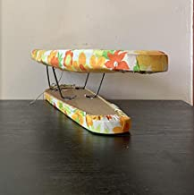 Ironing Board - Vintage 1960s Worldsbest Floral Tabletop Ironing Board. Mod Flowers