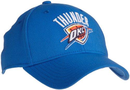 NBA Oklahoma City Thunder Flex Fit Hat, Light Blue, Large/X-Large