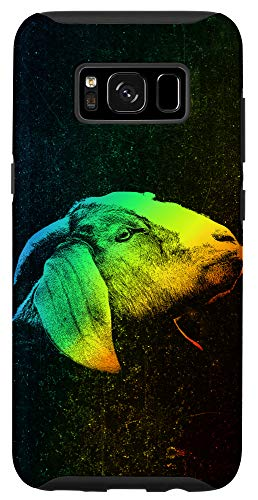 Galaxy S8 BOER GOAT Colorful Rainbow Vintage Retro Phone Case