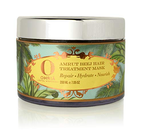 Ohria Ayurveda 100% Pure Butters Amrut Beej Hair Treatment Mask For Scalp & Hair Conditioning
