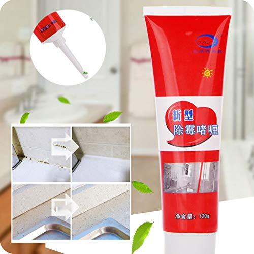 120ml Anti-Schimmel-Gel-Entferner, Schimmelentferner Gel, Anti-Geruchs-Entferner, Reinigungsgel, Entferner-Gel, Geruchshemmendes Reinigungsgel, Tiefenreiniger, Dichtgel, Küche und Badezimmer (120 ML)