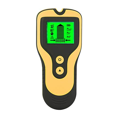 Stud Finder Wood Metal Detector Compact 3 In 1 Electronic Center Finders Wall Detector with LCD DisplayEasy Readfor Metal Wood Electric Wire