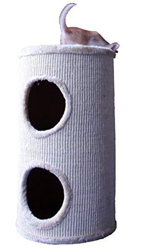 Kaxima Kratzbaum Katzenbaum Zylinder-Katze Wurf Katzenmöbel Haustier-Zubehör 33 * 33 * 60 cm