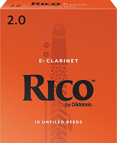 durezza 2,0 Confezione da 5 ance Rico Plasticover per sassofono tenore