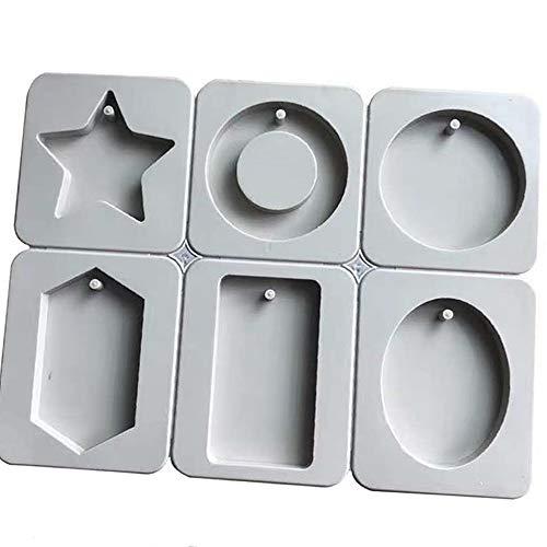 Stampi in Silicone Per Sapone, Stampi di Sapone Fatto A Mano Stampo Cake Baking Pan Stampo Per DIY Homemade Craft per Sapone Fatto a Mano per Realizzare Saponi Candele Muffa Dolci Lozioni