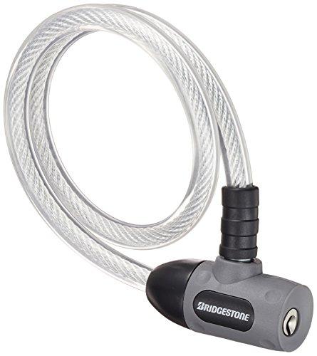 ブリヂストン(BRIDGESTONE) ワイヤー錠 エブリロック グレー WL-EVL A521310GR