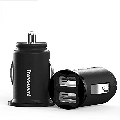 Grey Omii USB Car Charger Dual USB Port Car Charger with QC3.0+3A Output for iPhone Xs//Max//XR Samsung Galaxy Note9 and More Smart Cell Phone iPad Pro//Mini
