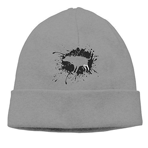 RUTH Box Prints Shaking Perro Silueta Lana Watchcap Gorro