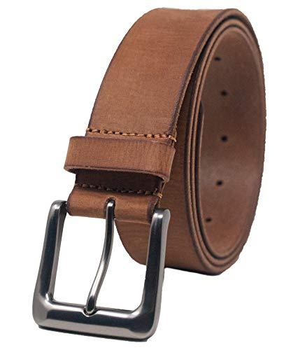 Brown or Tan Black 1.25 Ashford Ridge 34mm Full Hide Leather Belt