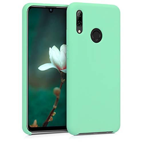 kwmobile Funda Compatible con Huawei P Smart (2019) - Funda Carcasa de TPU para móvil - Cover Trasero en Verde Menta