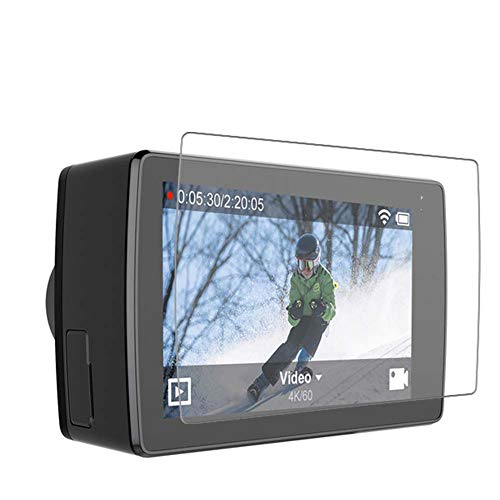 Vaxson 4 Stück Schutzfolie, kompatibel mit YI 4K+ Action Camera, Displayschutzfolie TPU Folie [nicht Panzerglas]